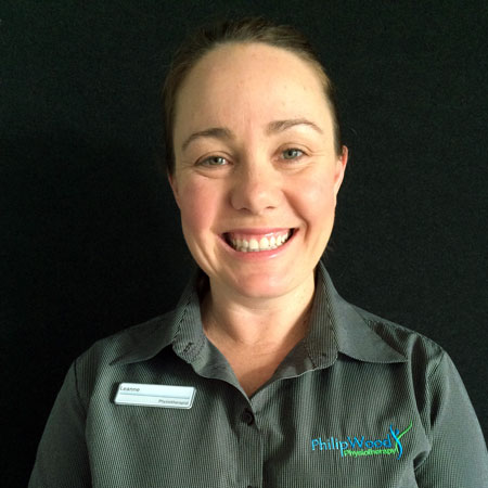Leanne Duggan, Physiotherapist