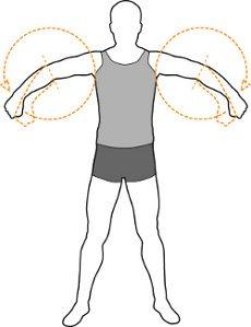 Arm Loosen up Stretch